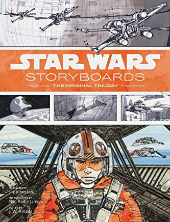 Star Wars Storyboards: The Original Trilogy Cover