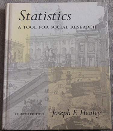 Statistics: A Tool for Social Research Cover