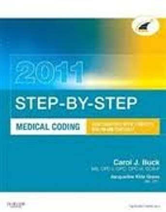 Step-by-Step Medical Coding 2011 Edition 15 Pap/Psc edition Cover