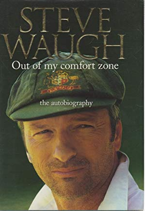 Steve Waugh - Out Of My Comfort Zone - The Autobiography Cover