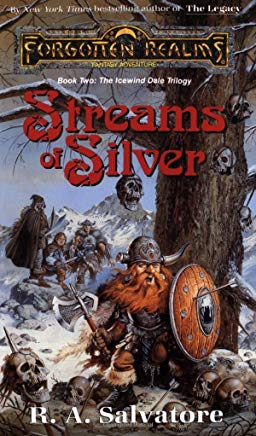 Streams of Silver (Forgotten Realms: The Icewind Dale Trilogy, Book 2) Cover