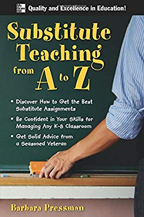 Substitute Teaching from A to Z Cover