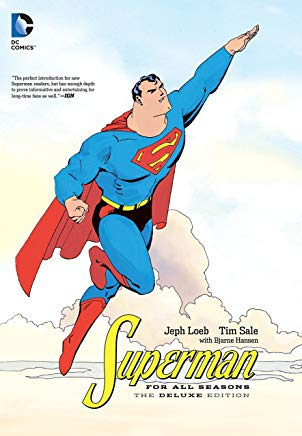 Superman for All Seasons Deluxe Edition Cover