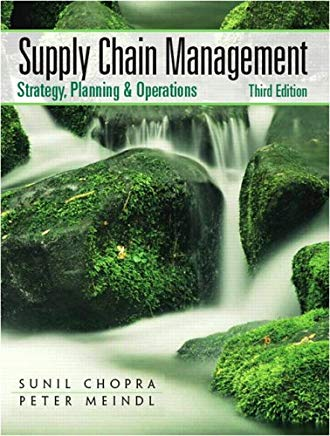 Supply Chain Management (3rd Edition) Cover