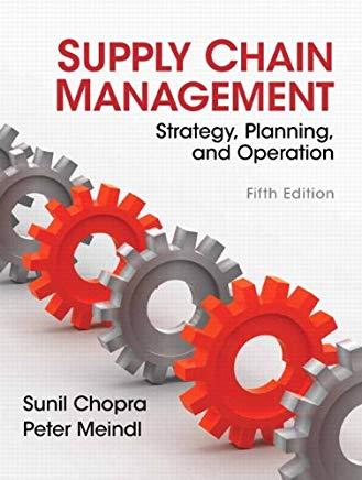Supply Chain Management (5th Edition) Cover