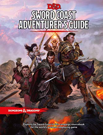 Sword Coast Adventurer's Guide (Dungeons & Dragons) Cover