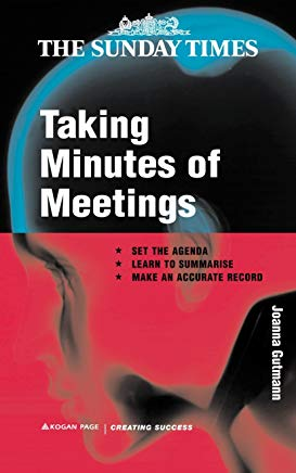 Taking Minutes of Meetings (Creating Success) Cover