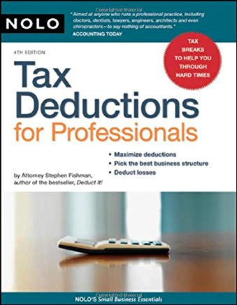 Tax Deductions for Professionals (Small Business Essentials) Cover