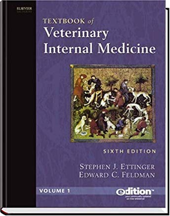 Textbook of Veterinary Internal Medicine: 2-Volume Set with CD-ROM Cover