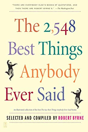 The 2,548 Best Things Anybody Ever Said Cover