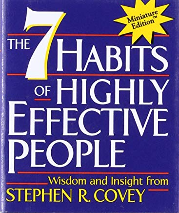 The 7 Habits of Highly Effective People(Miniature Edition) (Miniature Editions) Cover