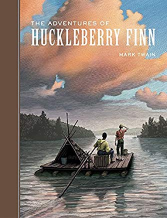 The Adventures of Huckleberry Finn (Sterling Unabridged Classics) Cover