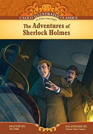 The Adventures of Sherlock Holmes (Calico Illustrated Classics) Cover