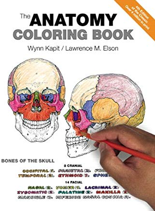 The Anatomy Coloring Book Cover