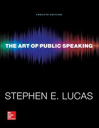 The Art of Public Speaking (Communication) Standalone Book Cover