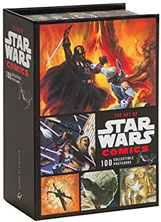 The Art of Star Wars Comics: 100 Collectible Postcards Cover