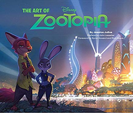 The Art of Zootopia Cover