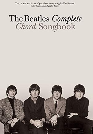 The Beatles Complete Chord Songbook Cover
