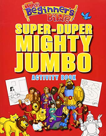 The Beginner's Bible Super-Duper, Mighty, Jumbo Activity Book Cover