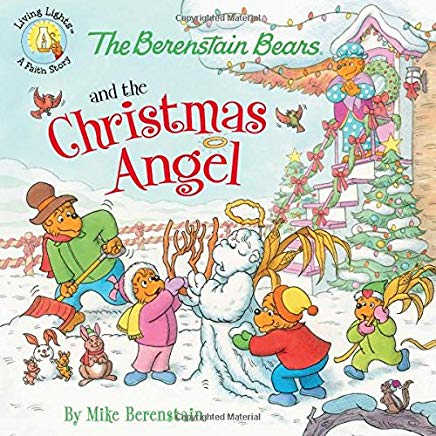 The Berenstain Bears and the Christmas Angel (Berenstain Bears/Living Lights) Cover