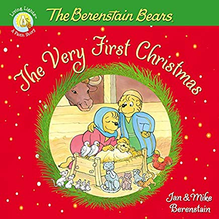 The Berenstain Bears, The Very First Christmas (Berenstain Bears/Living Lights) Cover