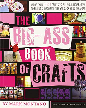 The Big-Ass Book of Crafts Cover