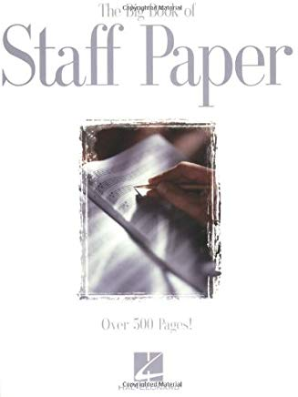 The Big Book of Staff Paper Cover
