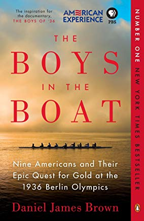 The Boys in the Boat: Nine Americans and Their Epic Quest for Gold at the 1936 Berlin Olympics Cover