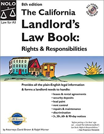The California Landlord's Law Book: Rights and Responsibilities with CDROM (California Landlord's Law Book: Rights & Responsibilities) Cover