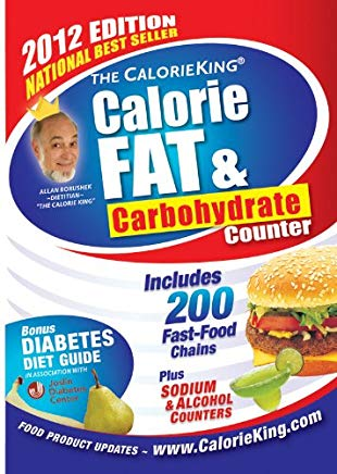 The CalorieKing Calorie, Fat & Carbohydrate Counter 2012 Cover