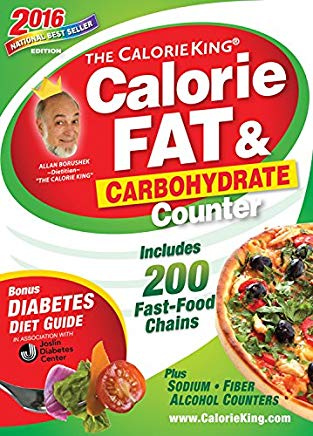 The CalorieKing Calorie, Fat & Carbohydrate Counter 2016 Cover
