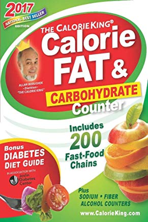 The CalorieKing Calorie, Fat & Carbohydrate Counter 2017: Pocket-Size Edition Cover