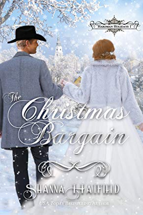 The Christmas Bargain: (A Sweet Victorian Holiday Romance) (Hardman Holidays Book 1) Cover