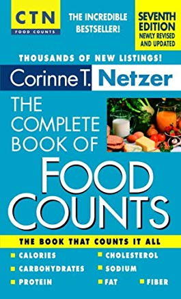 The Complete Book of Food Counts, 7th edition Cover