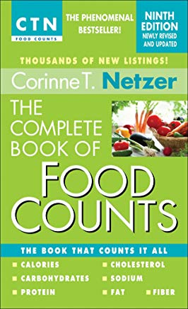 The Complete Book of Food Counts, 9th Edition: The Book That Counts It All Cover
