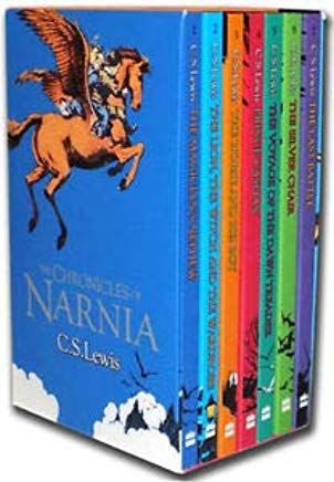 The Complete Chronicles of Narnia ( Boxed Set 7 Books ) Cover
