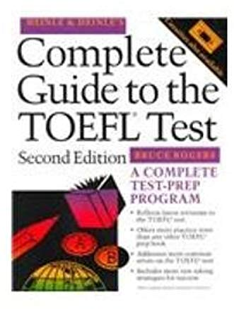 The Complete Guide to the TOEFL(r) Test, 2/E Cover