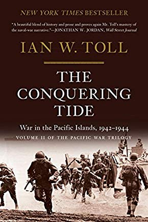 The Conquering Tide: War in the Pacific Islands, 1942-1944 Cover