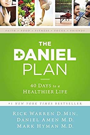 The Daniel Plan: 40 Days to a Healthier Life Cover