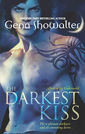 The Darkest Kiss (Lords of the Underworld) Cover