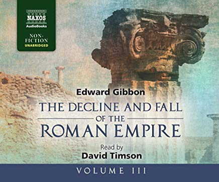 The Decline and Fall of the Roman Empire, Volume III Cover
