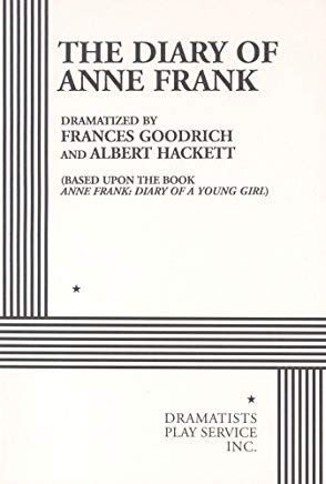 The Diary of Anne Frank. (Acting Edition for Theater Productions) Cover