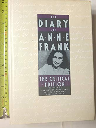 The Diary of Anne Frank: The Critical Edition Cover