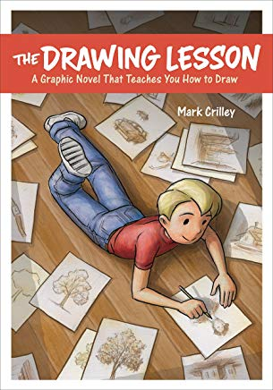 The Drawing Lesson: A Graphic Novel That Teaches You How to Draw Cover