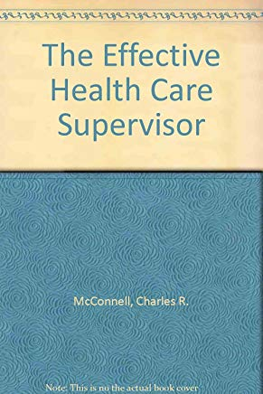 The Effective Health Care Supervisor Cover