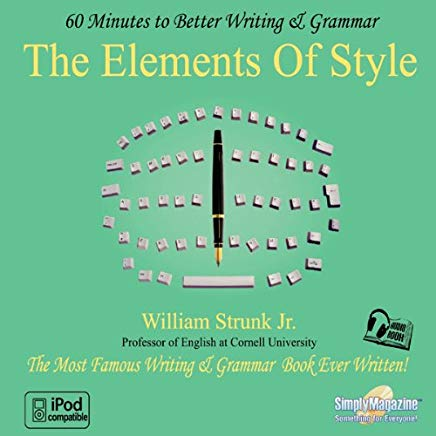 The Elements of Style: 60 Minutes to Better Writing & Grammar Cover