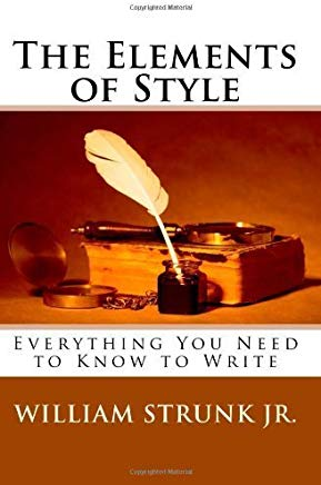 The Elements of Style by William Strunk Jr. (2009-07-28) Cover