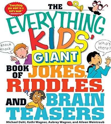 The Everything Kids' Giant Book of Jokes, Riddles, and Brain Teasers Cover