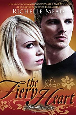 The Fiery Heart: A Bloodlines Novel Cover