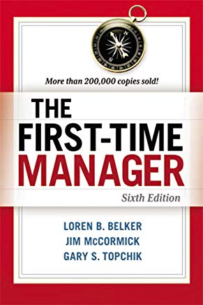 The First-Time Manager Cover